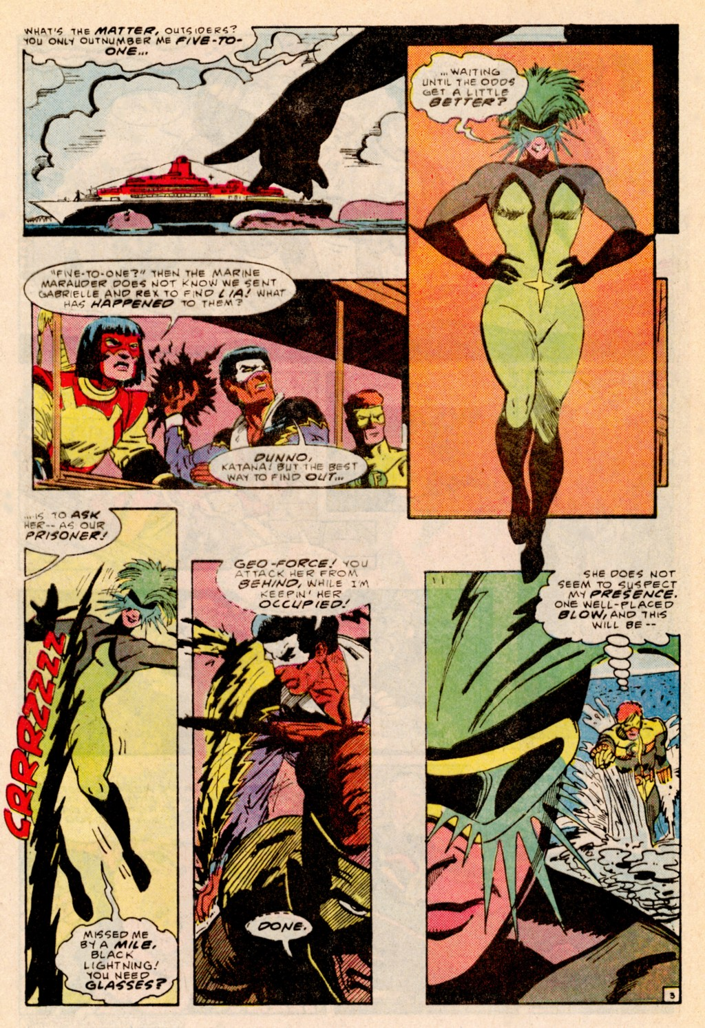 Read online Adventures of the Outsiders comic -  Issue #38 - 4