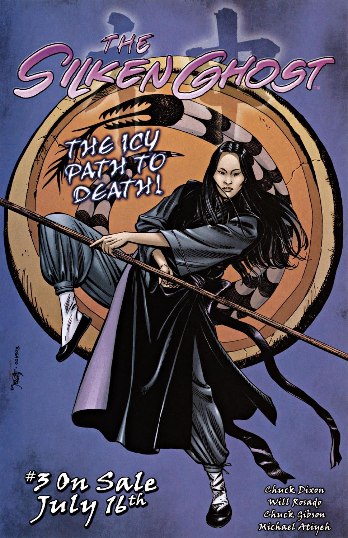 Read online Silken Ghost comic -  Issue #2 - 22