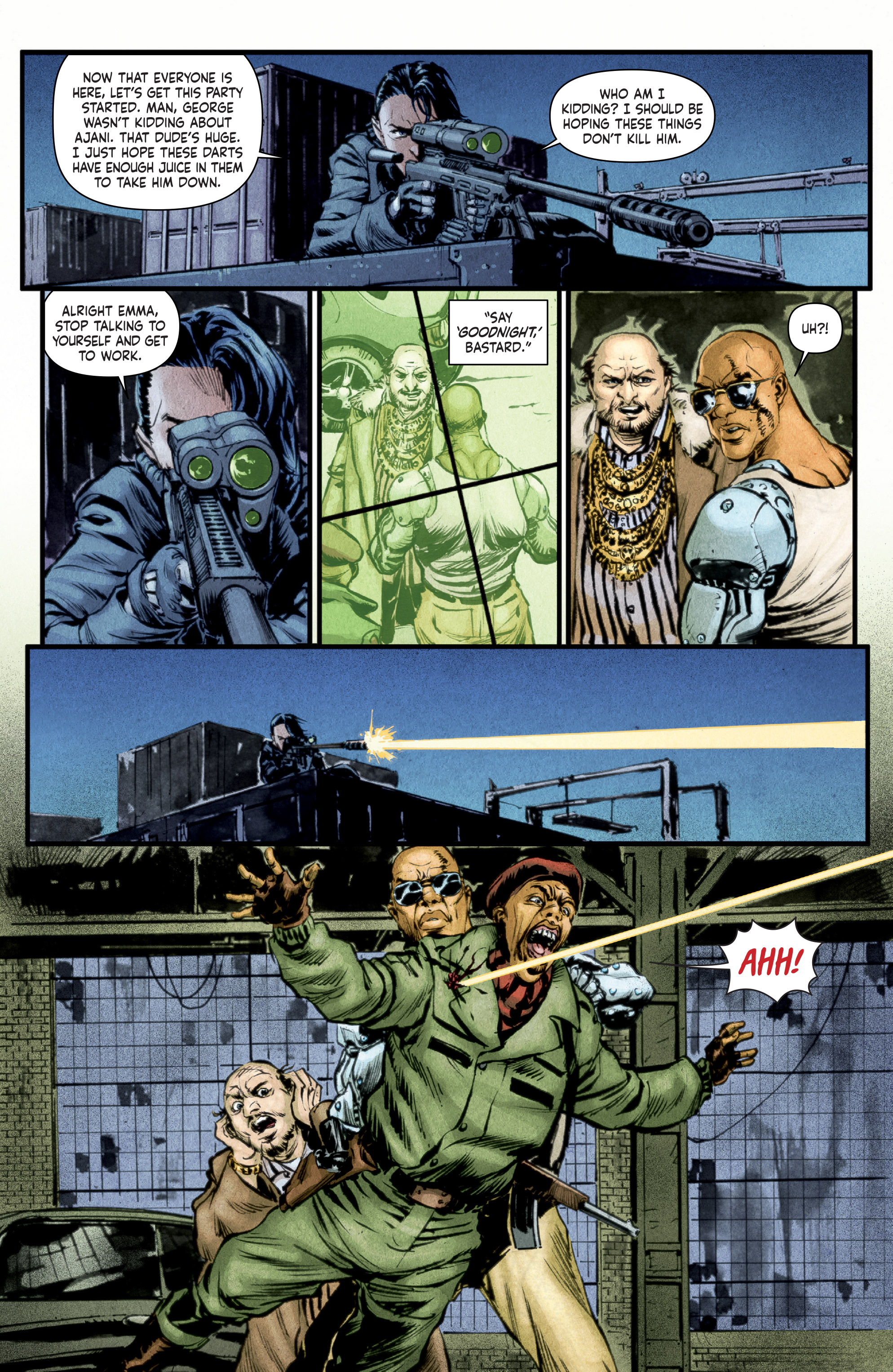 Read online Stained comic -  Issue #1 - 9