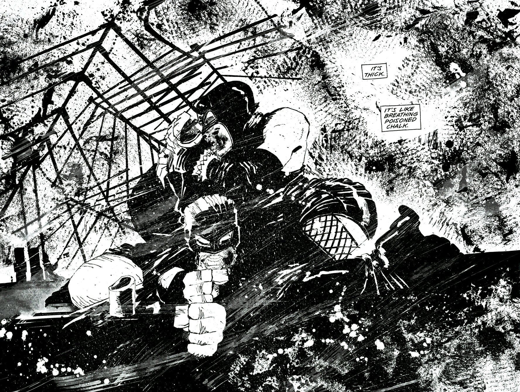 Read online Frank Miller's Holy Terror comic -  Issue # TPB - 47