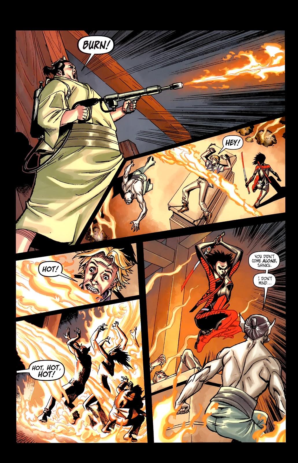 Read online Shinku comic -  Issue #5 - 18