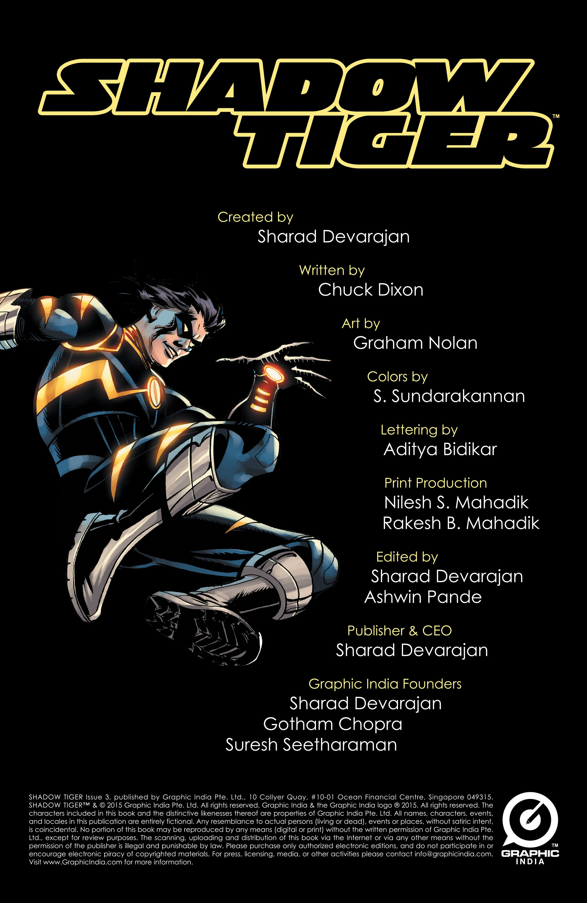 Read online Shadow Tiger comic -  Issue #3 - 2