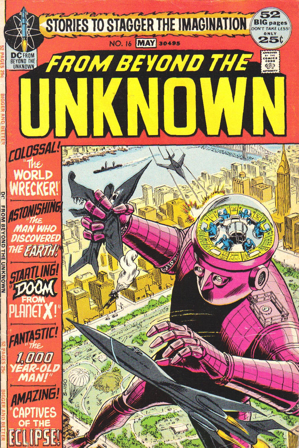 From Beyond the Unknown (1969) issue 16 - Page 1