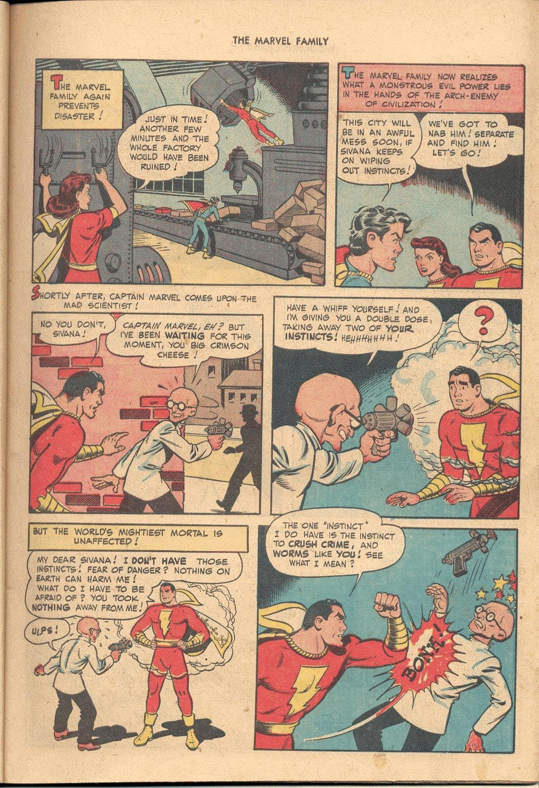The Marvel Family issue 38 - Page 9