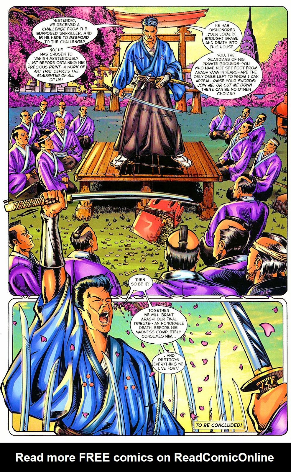 Shi: The Way of the Warrior Issue #11 #11 - English 25