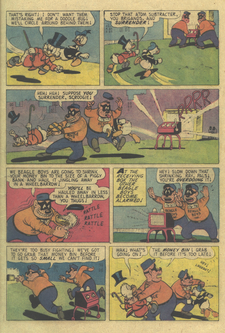 Read online Uncle Scrooge (1953) comic -  Issue #120 - 7