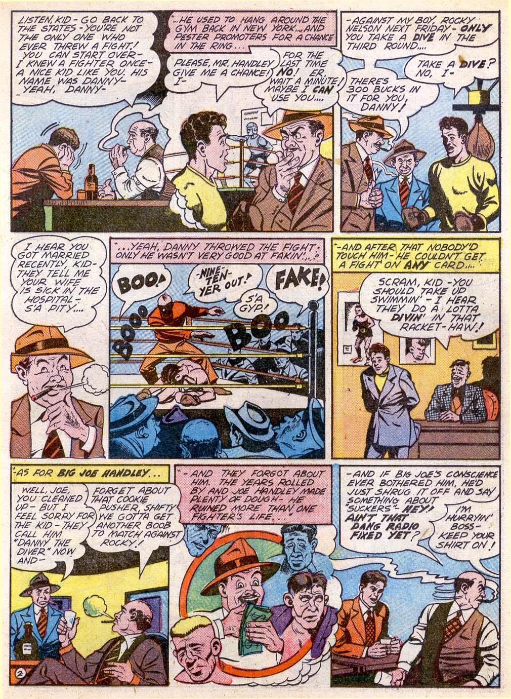 Read online Sensation (Mystery) Comics comic -  Issue #27 - 33