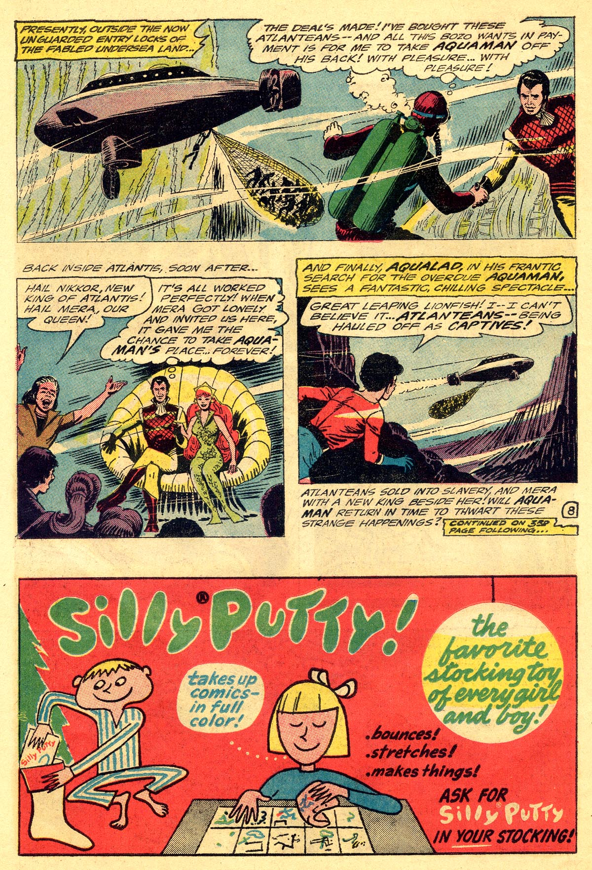 Read online Aquaman (1962) comic -  Issue #19 - 10