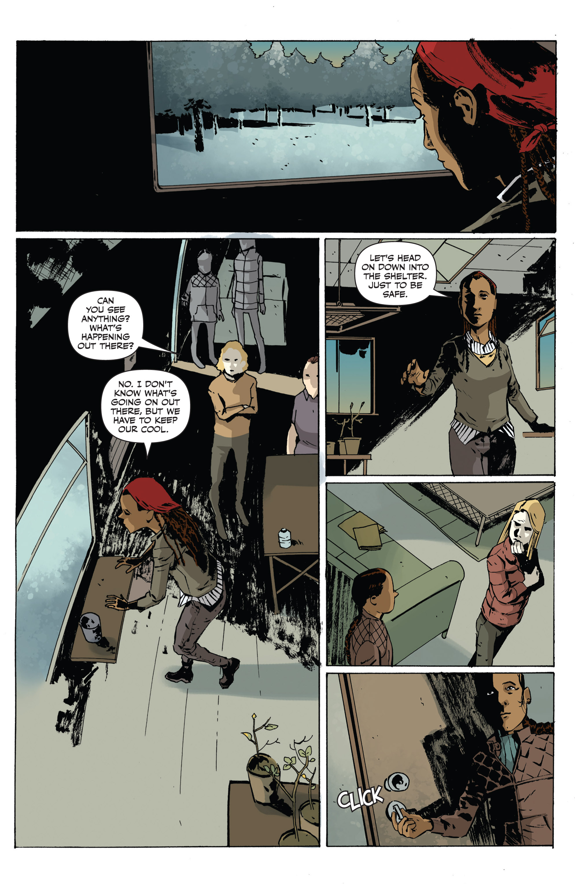 Read online Sheltered comic -  Issue #1 - 18