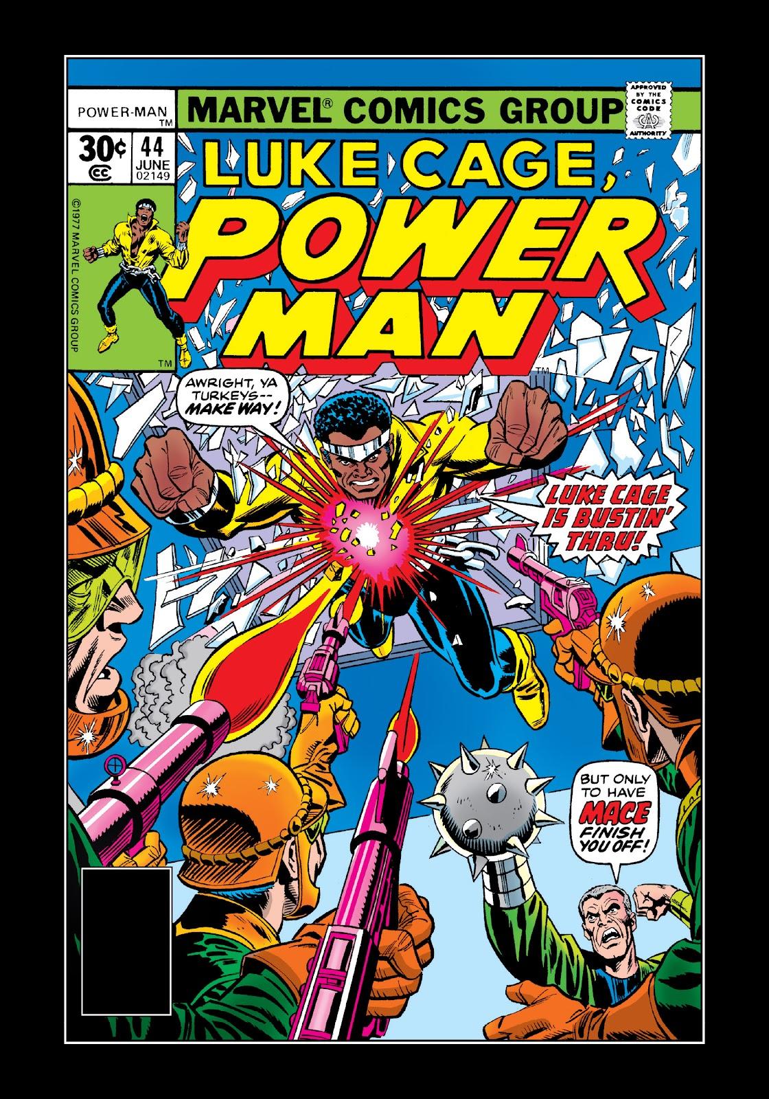 Read online Marvel Masterworks: Luke Cage, Power Man comic -  Issue # TPB 3 (Part 3) - 45