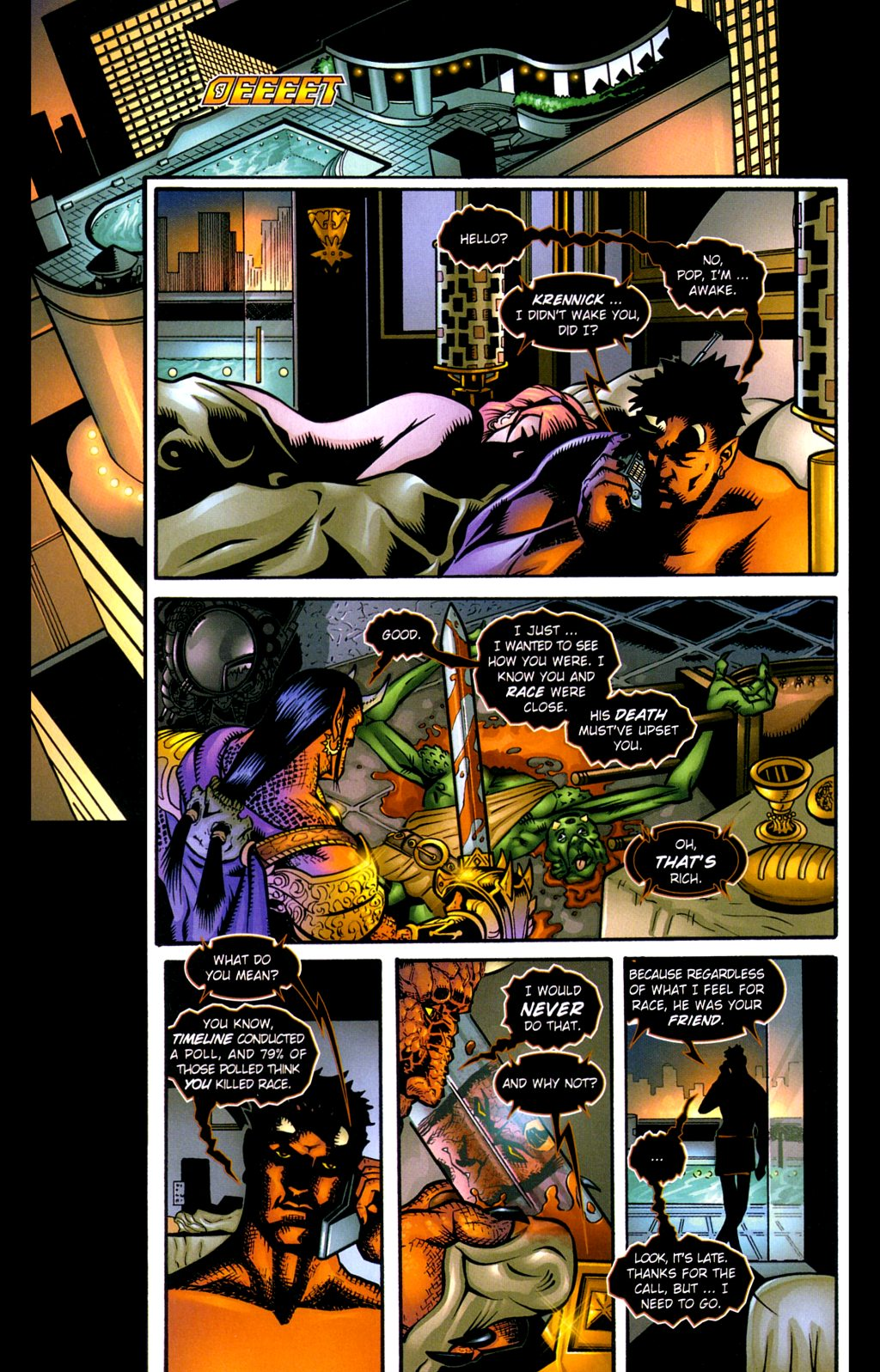 Read online Noble Causes (2002) comic -  Issue #3 - 3