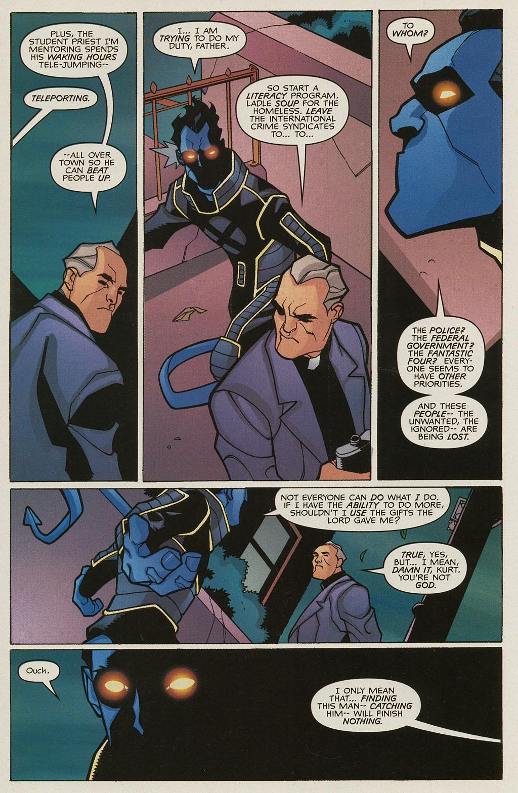 Read online Nightcrawler (2002) comic -  Issue #3 - 13