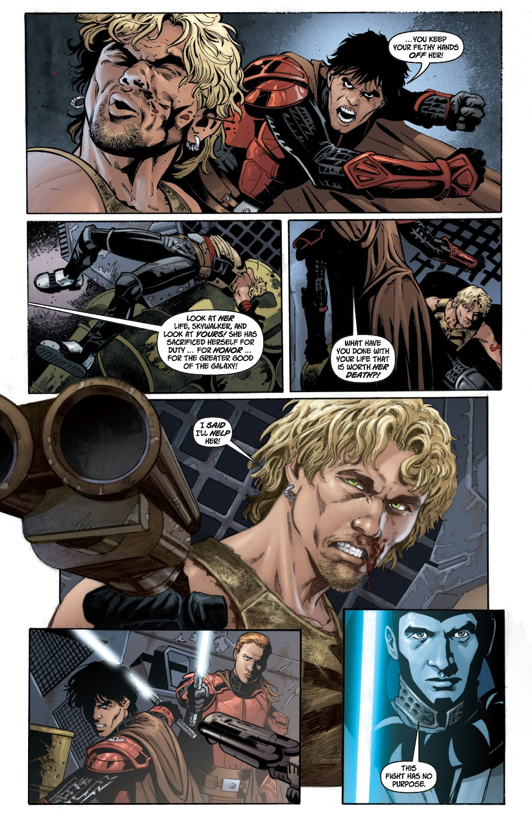 Read online Star Wars Legends: Legacy - Epic Collection comic -  Issue # TPB 1 (Part 2) - 41