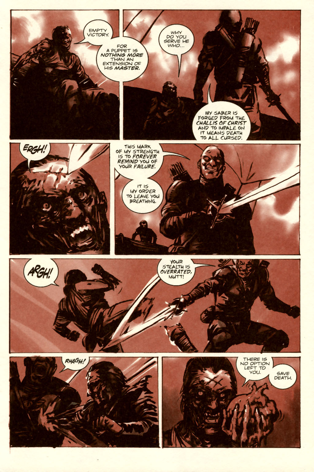 Read online Sea of Red comic -  Issue #5 - 31