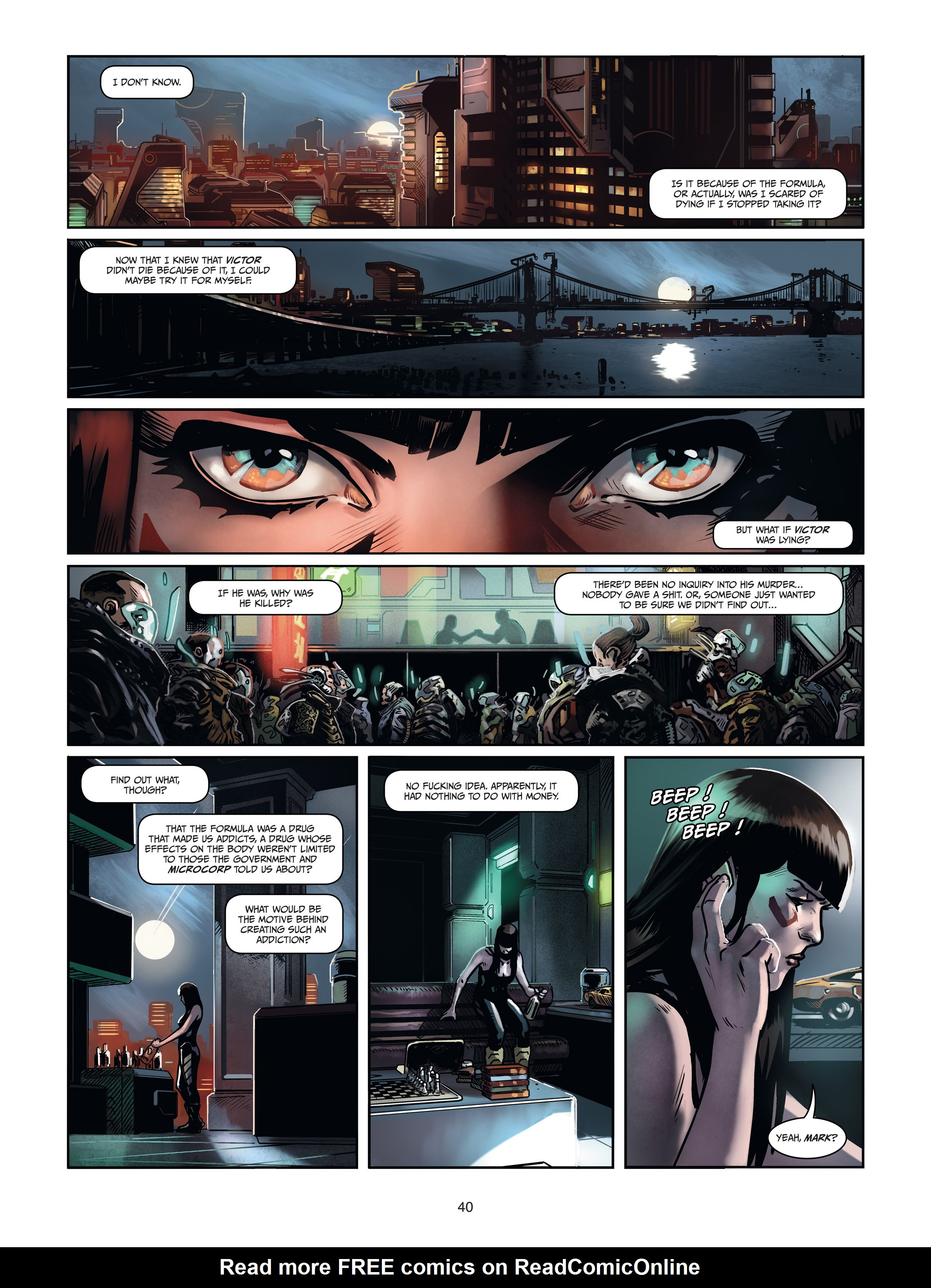 Read online Androïds comic -  Issue #1 - 38