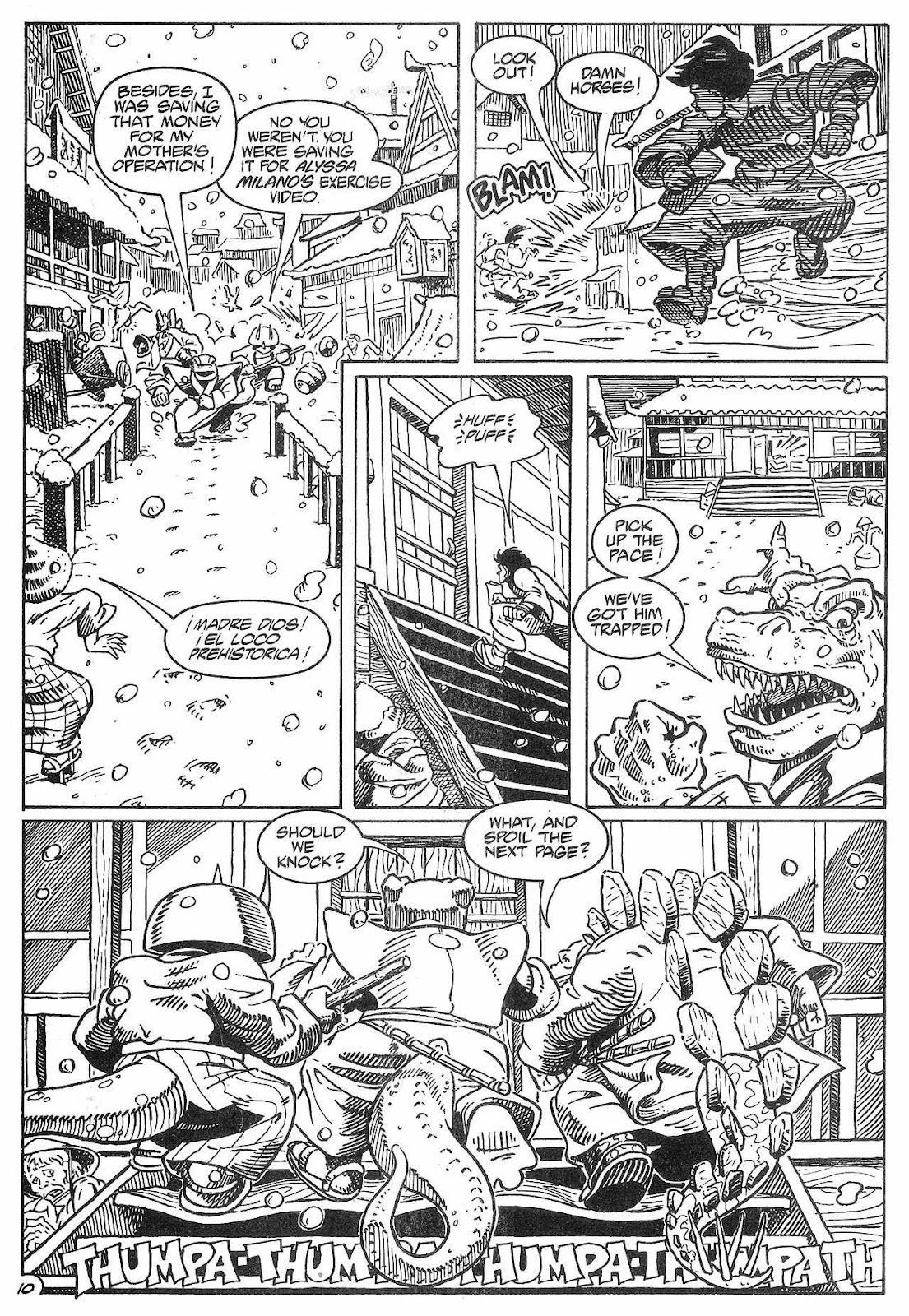 Dinosaurs For Hire (1988) issue 8 - Page 12