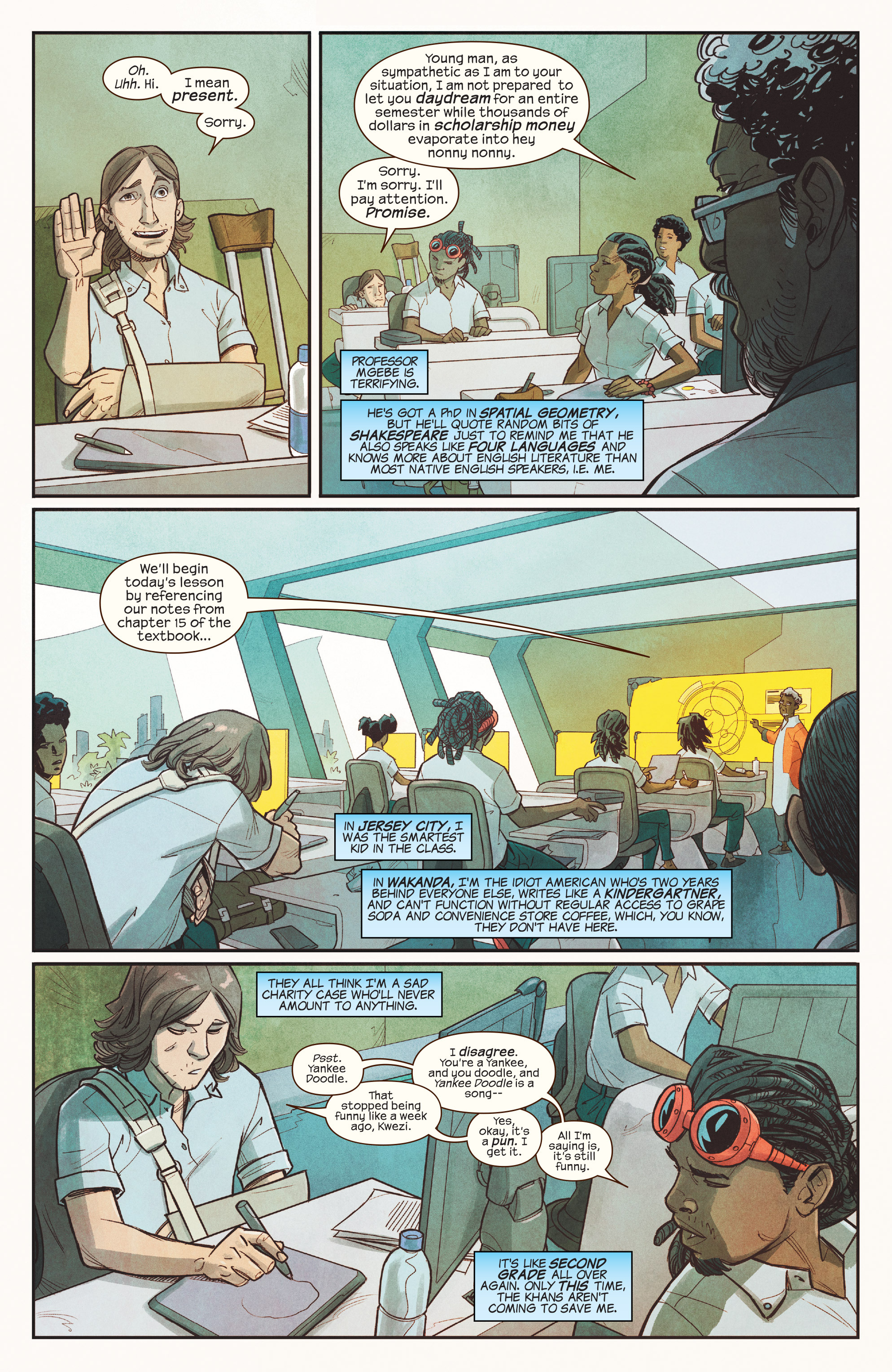 Read online Ms. Marvel (2016) comic -  Issue #18 - 5