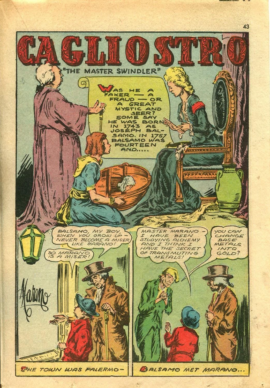 Read online Super-Magician Comics comic -  Issue #14 - 42