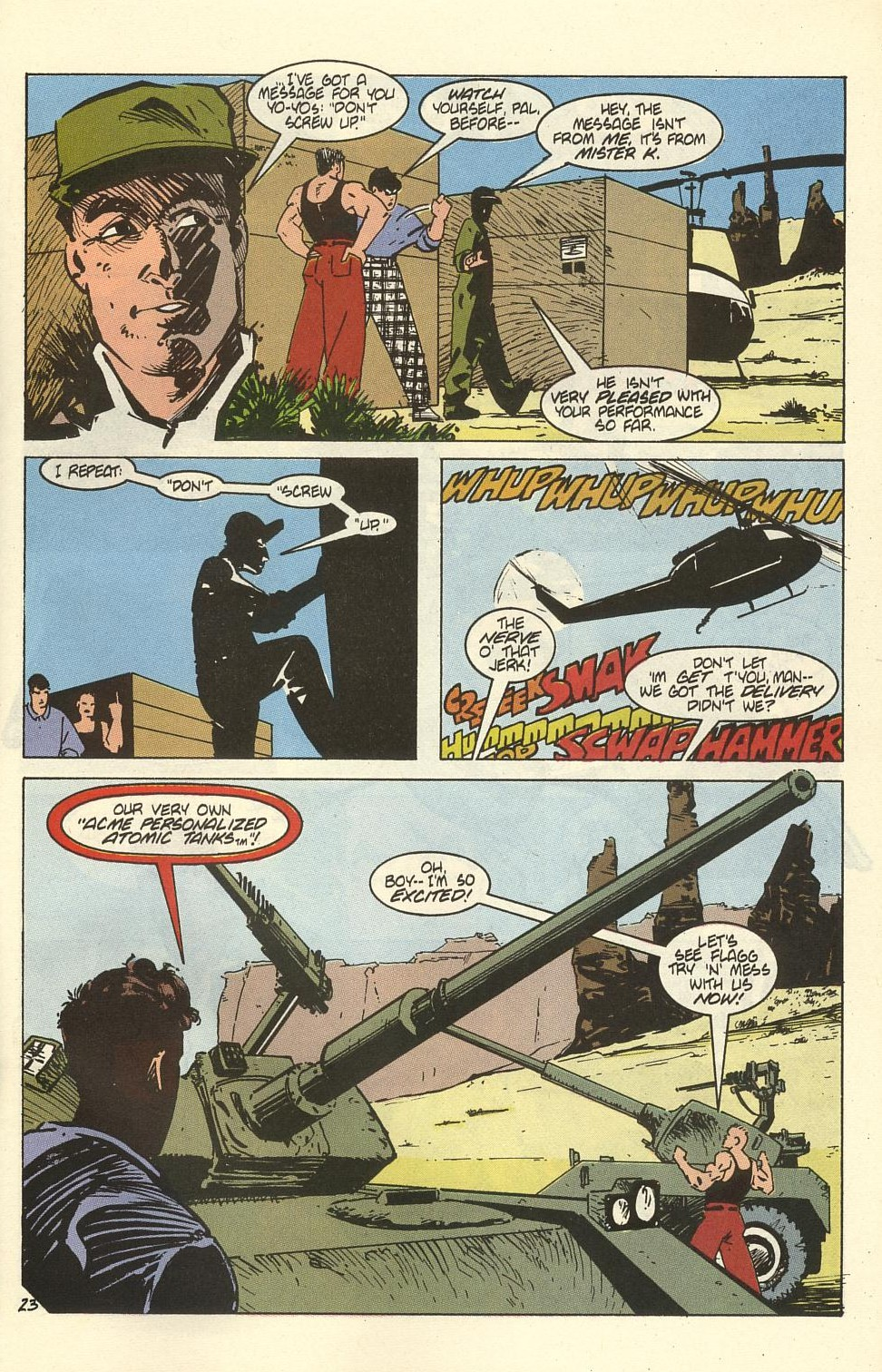Read online American Flagg! comic -  Issue #41 - 29