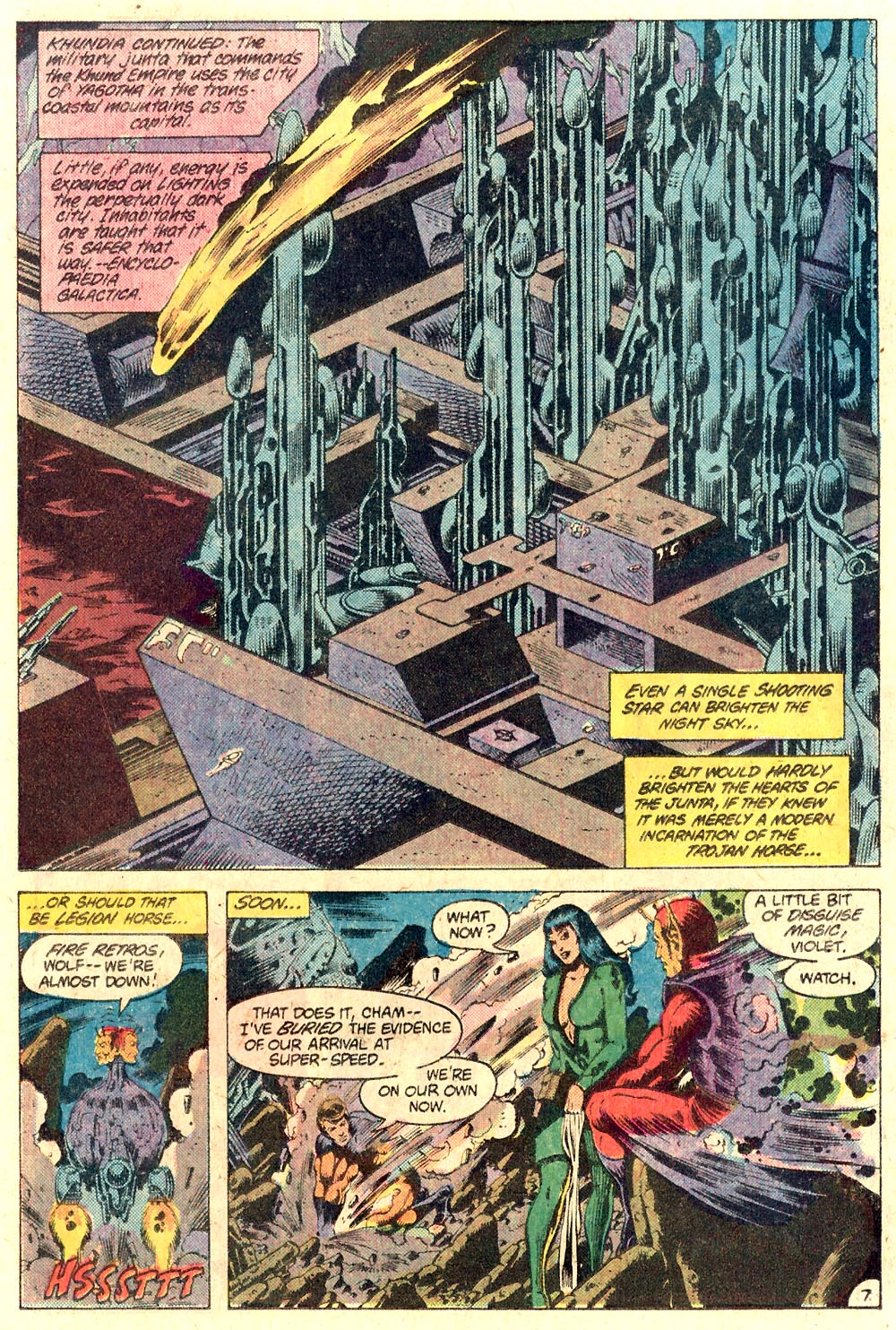 Legion of Super-Heroes (1980) 287 Page 7
