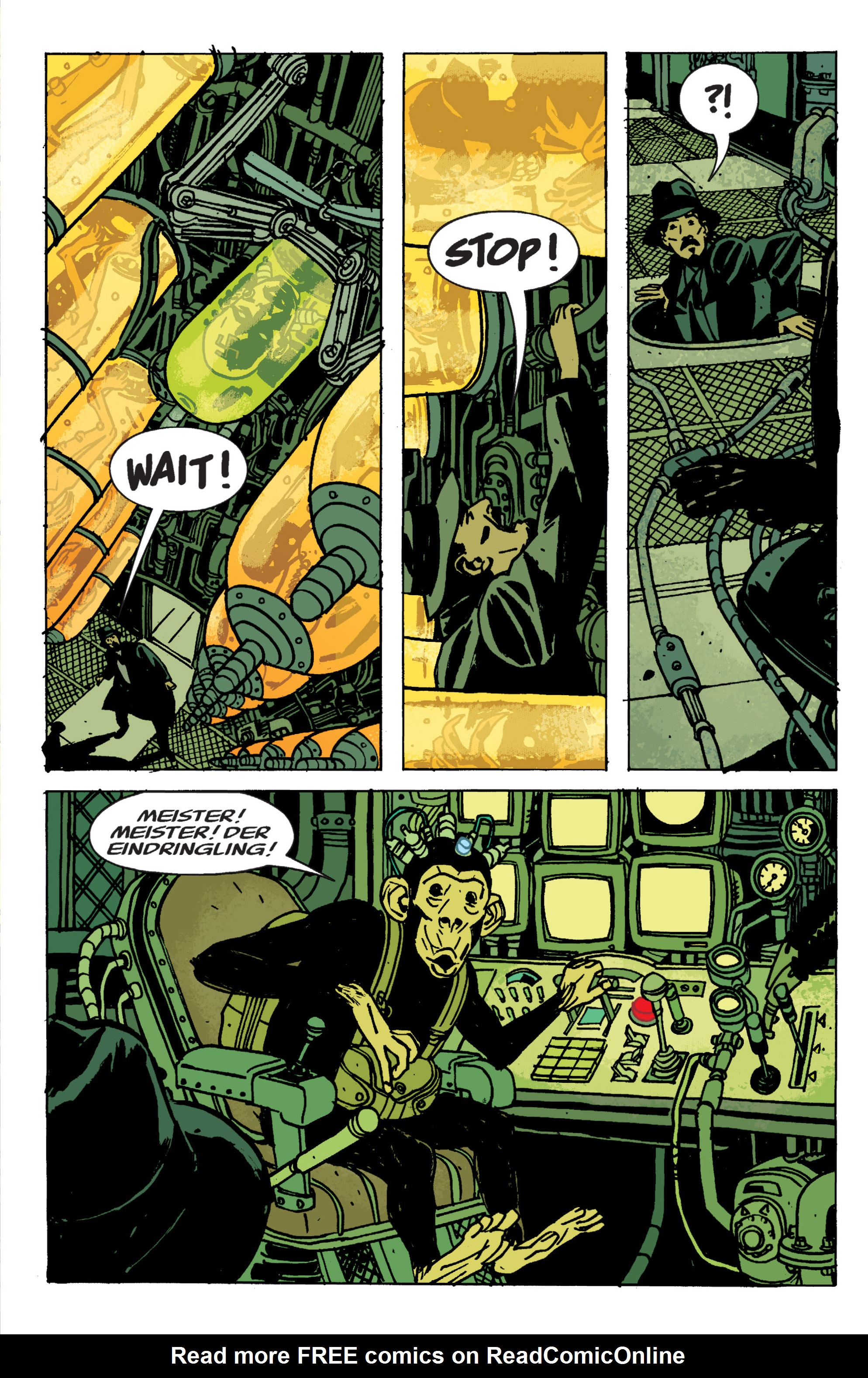 Read online B.P.R.D. (2003) comic -  Issue # TPB 9 - 114