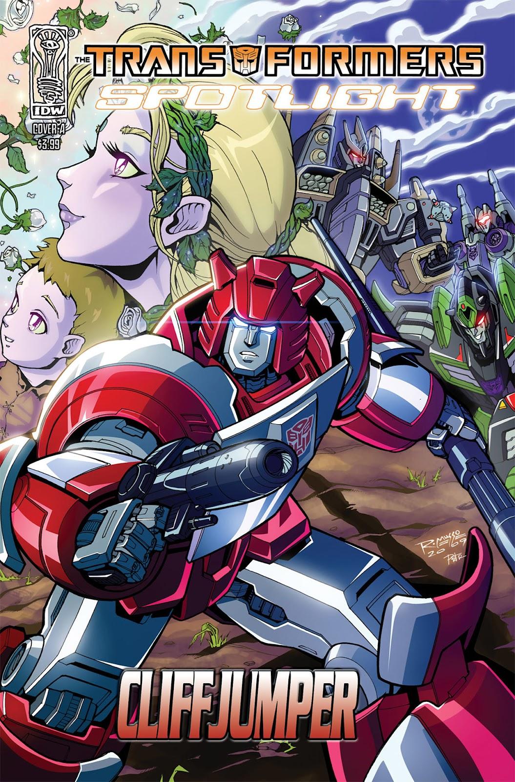Transformers Spotlight: Cliffjumper issue Full - Page 1