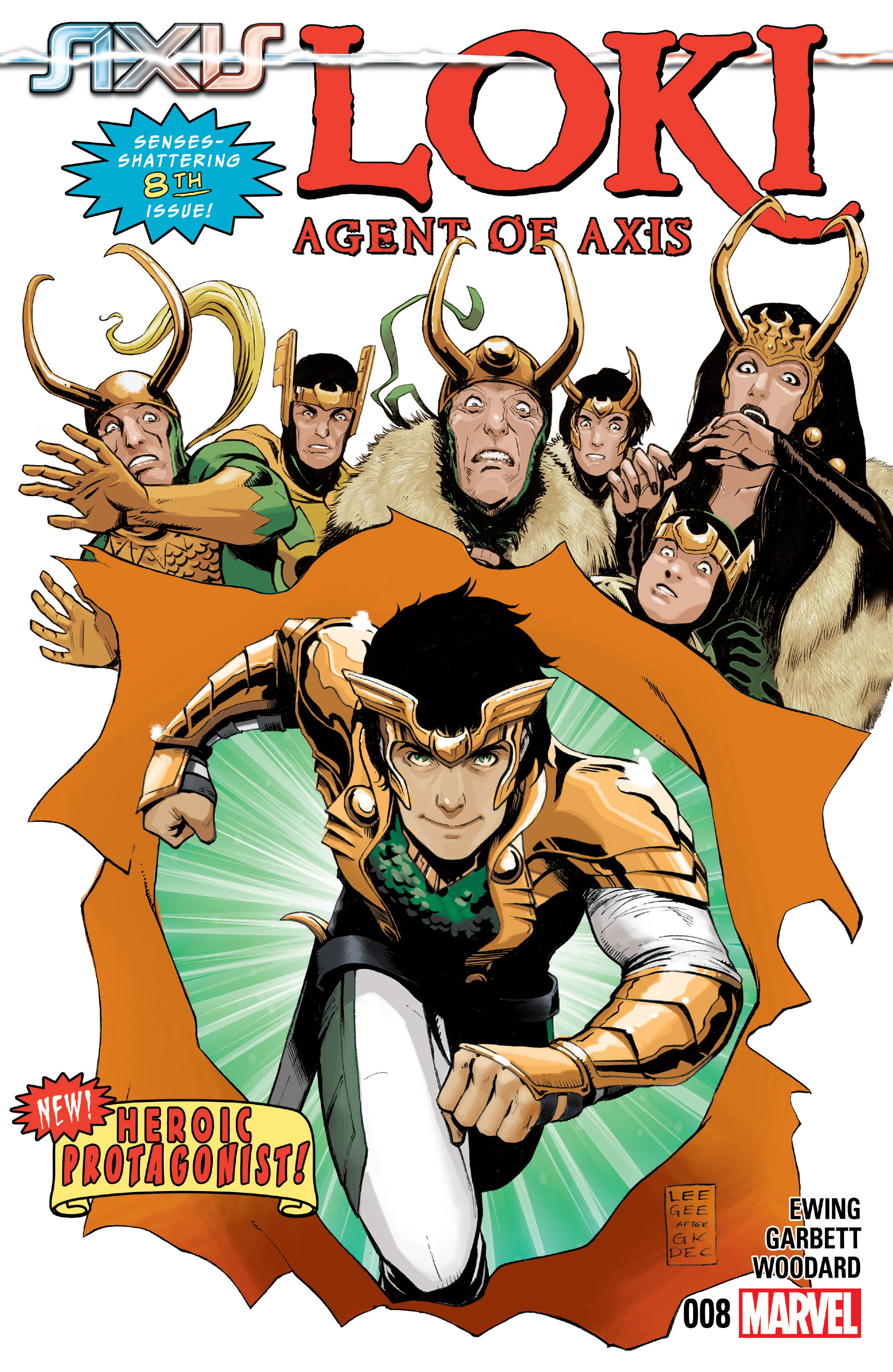 Loki: Agent of Asgard 8 Page 1
