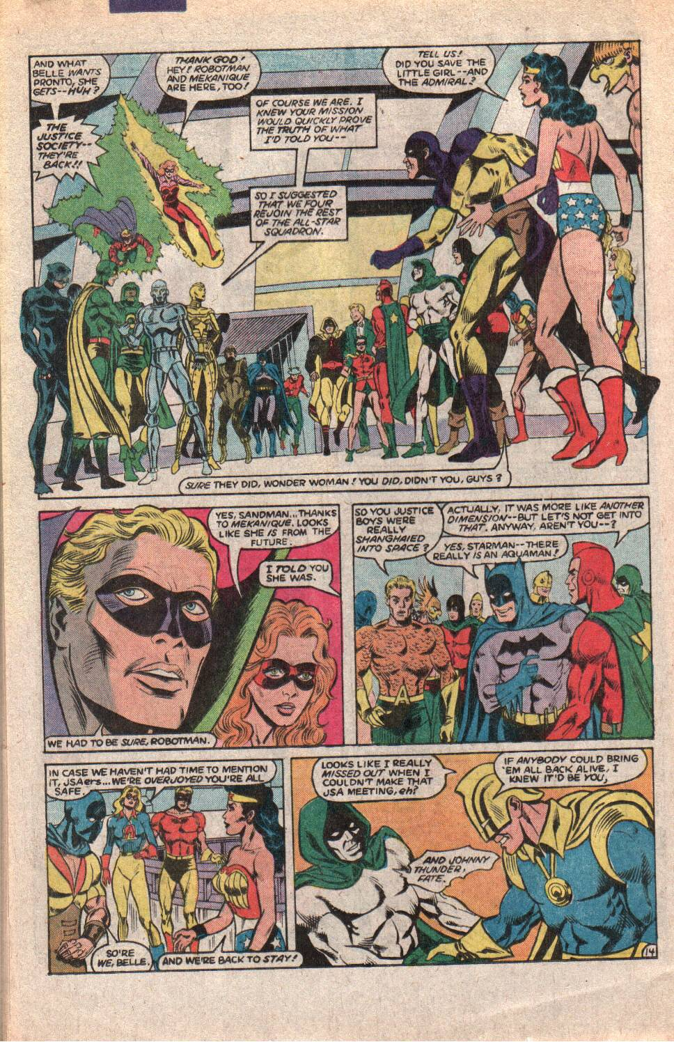 Read online All-Star Squadron comic -  Issue #60 - 20