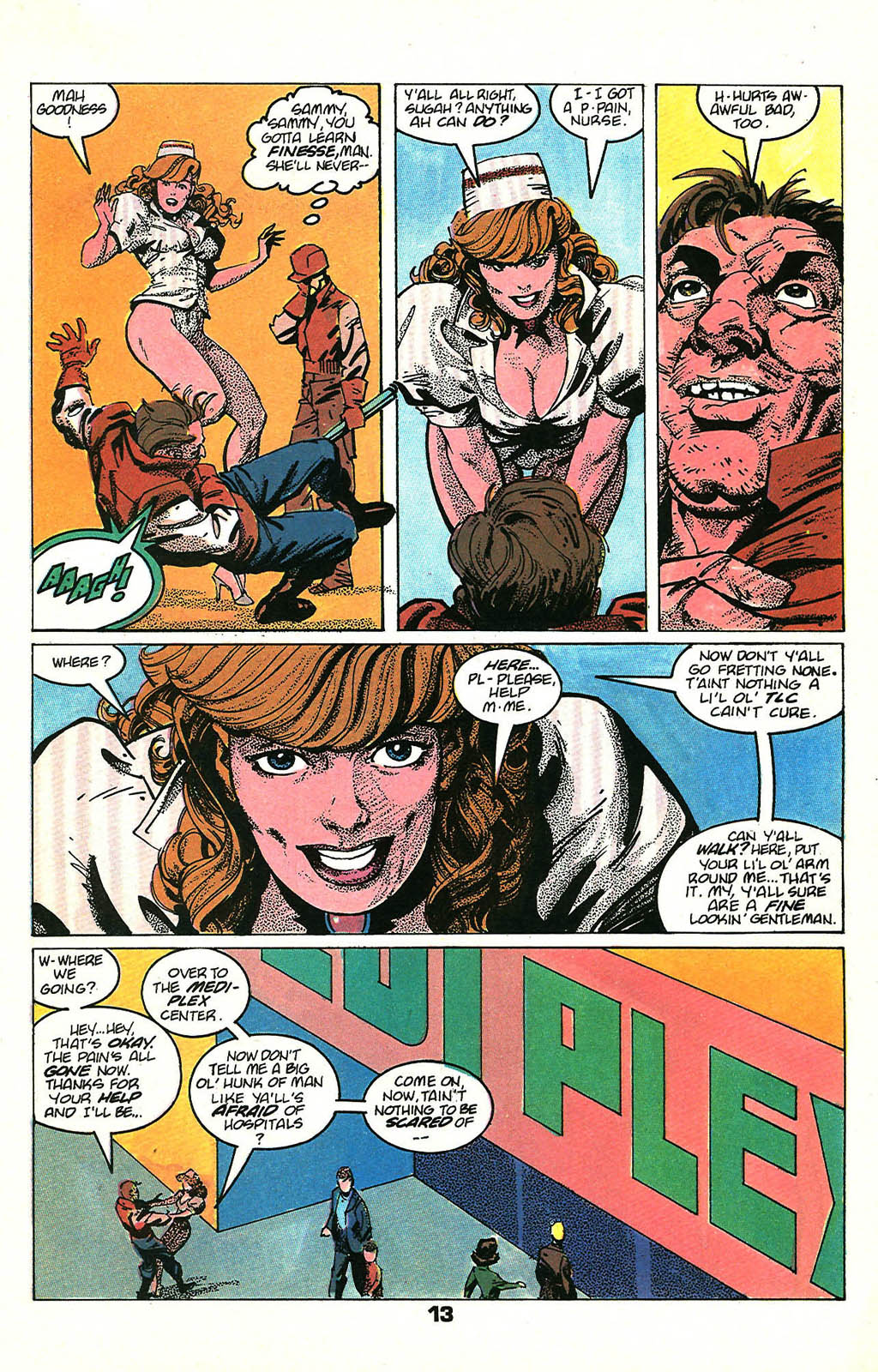 Read online American Flagg! comic -  Issue #48 - 17