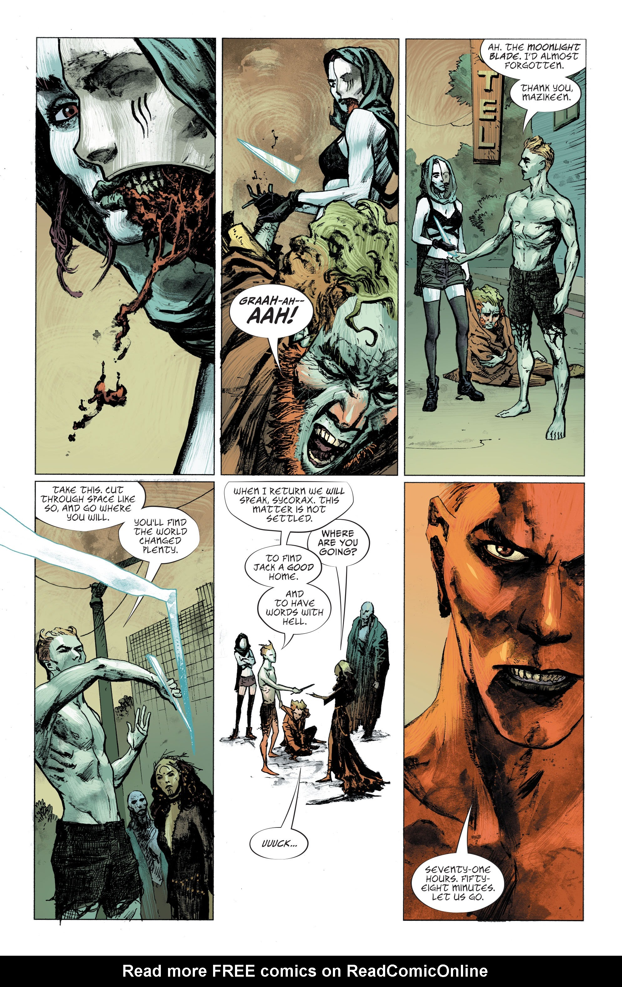 Read online Lucifer (2018) comic -  Issue #7 - 7