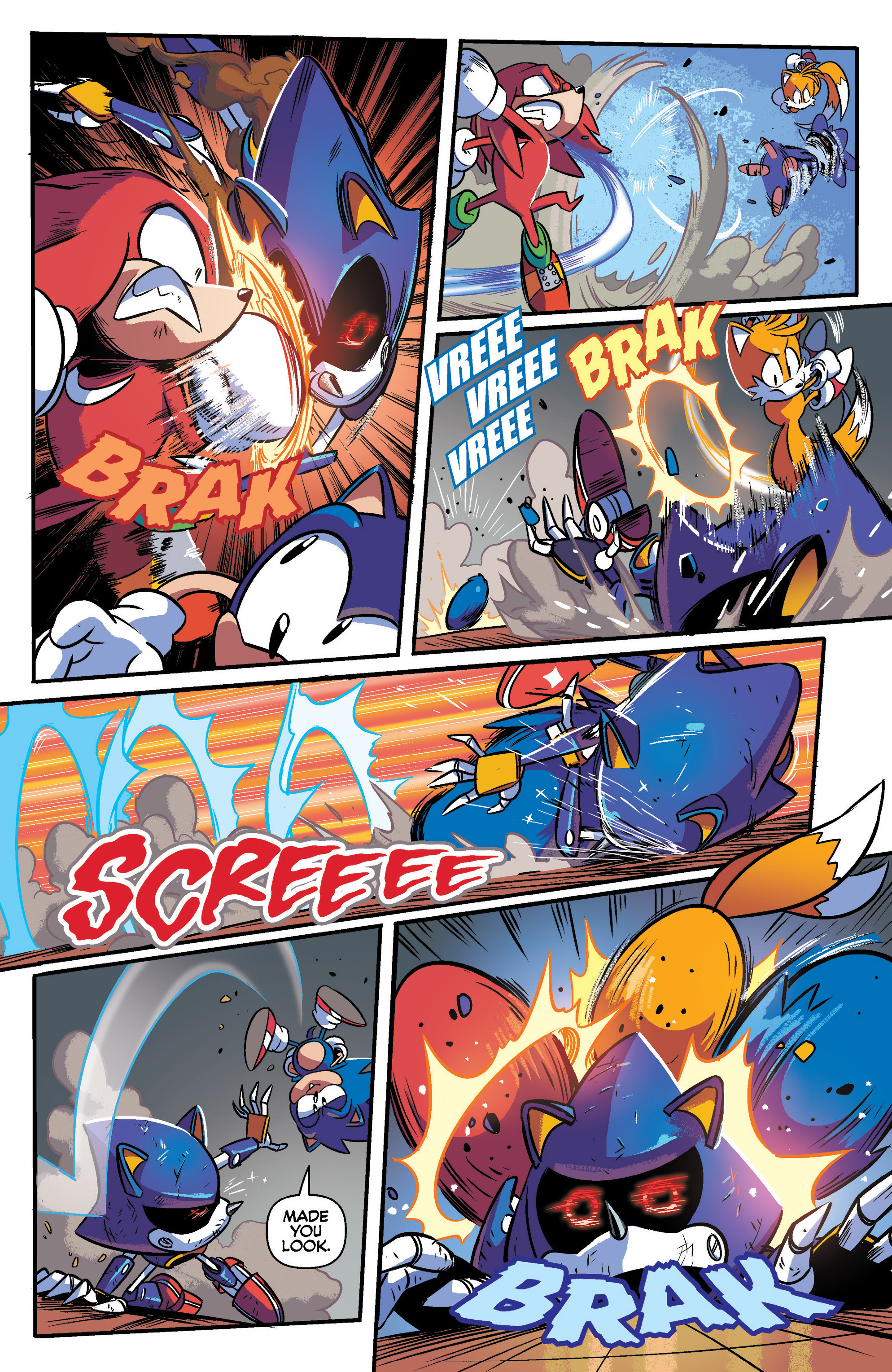 Read online Sonic: Mega Drive - The Next Level comic -  Issue # Full - 29