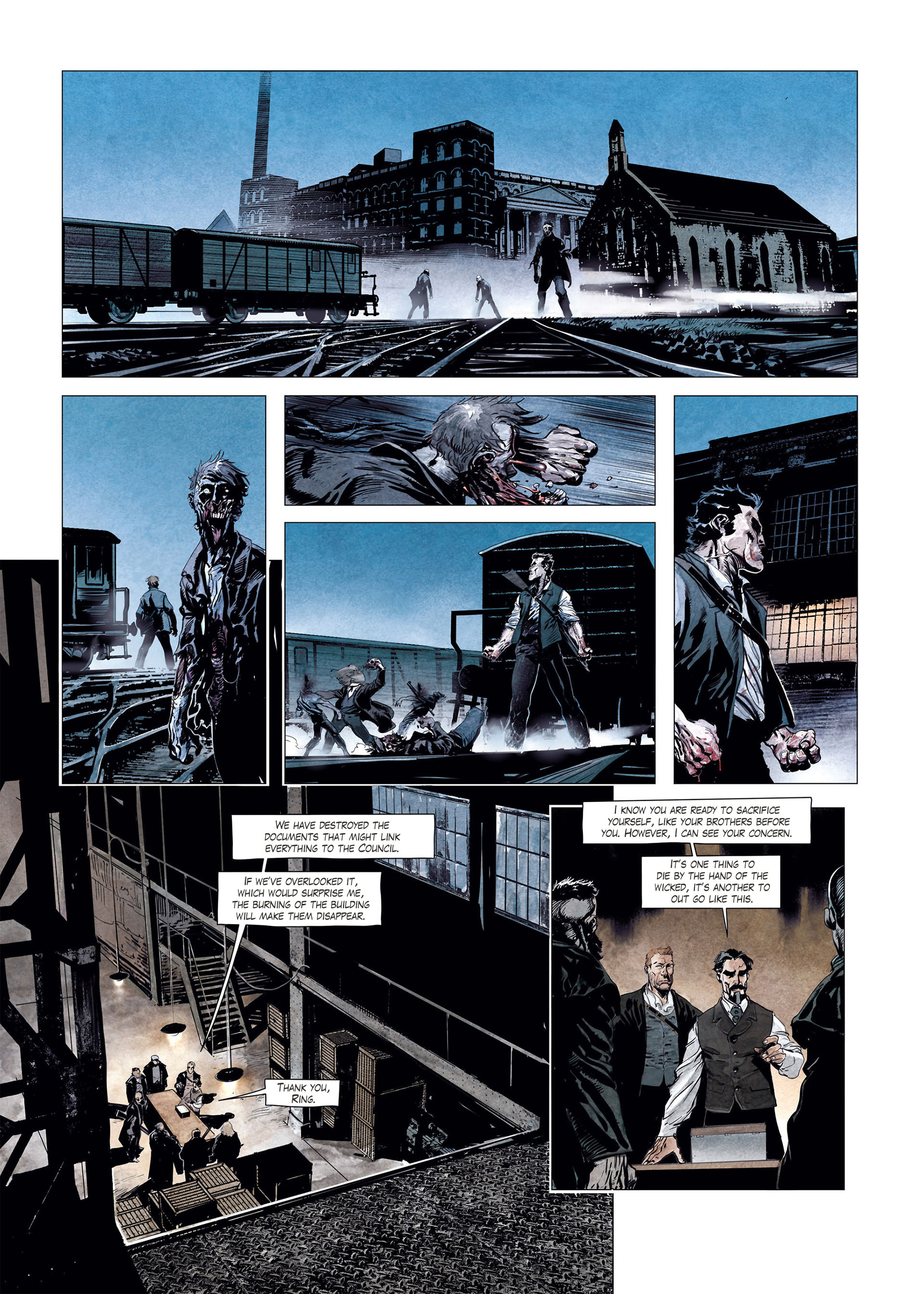 Read online Sherlock Holmes Society Tome 4 : Contamination comic -  Issue # Full - 38