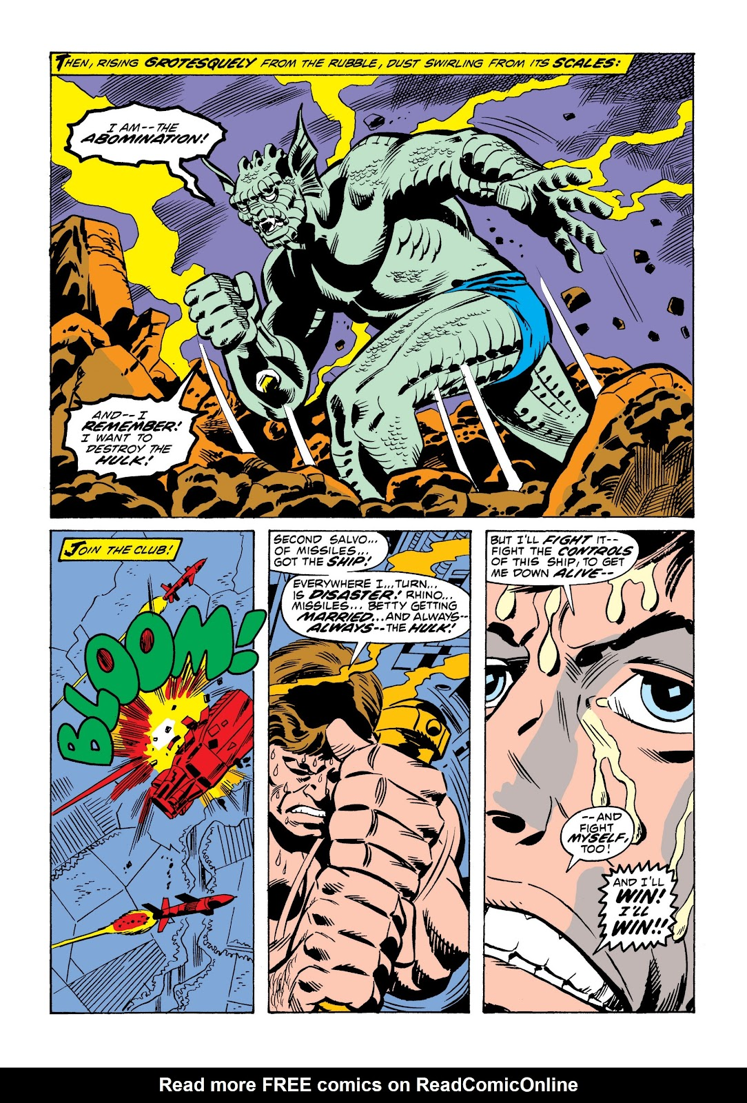 Read online Marvel Masterworks: The Incredible Hulk comic -  Issue # TPB 9 (Part 1) - 57