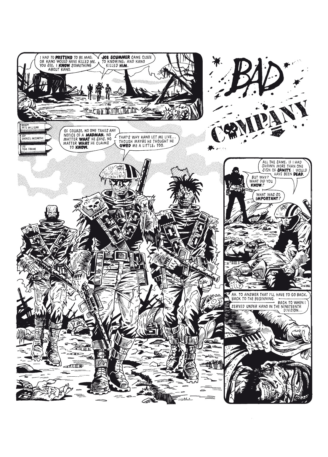 Read online The Complete Bad Company comic -  Issue # TPB - 110