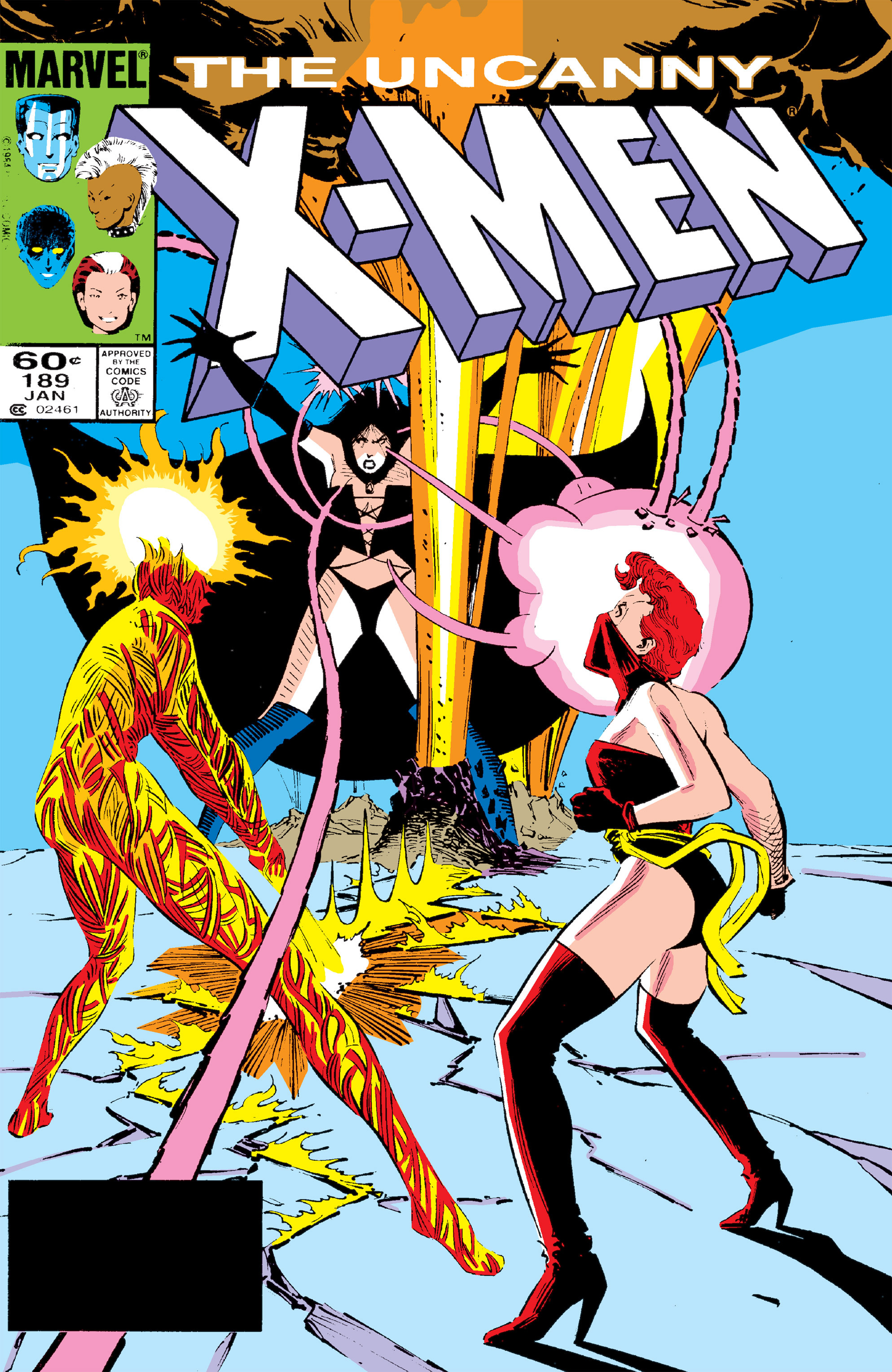 Read online Uncanny X-Men (1963) comic -  Issue #189 - 1