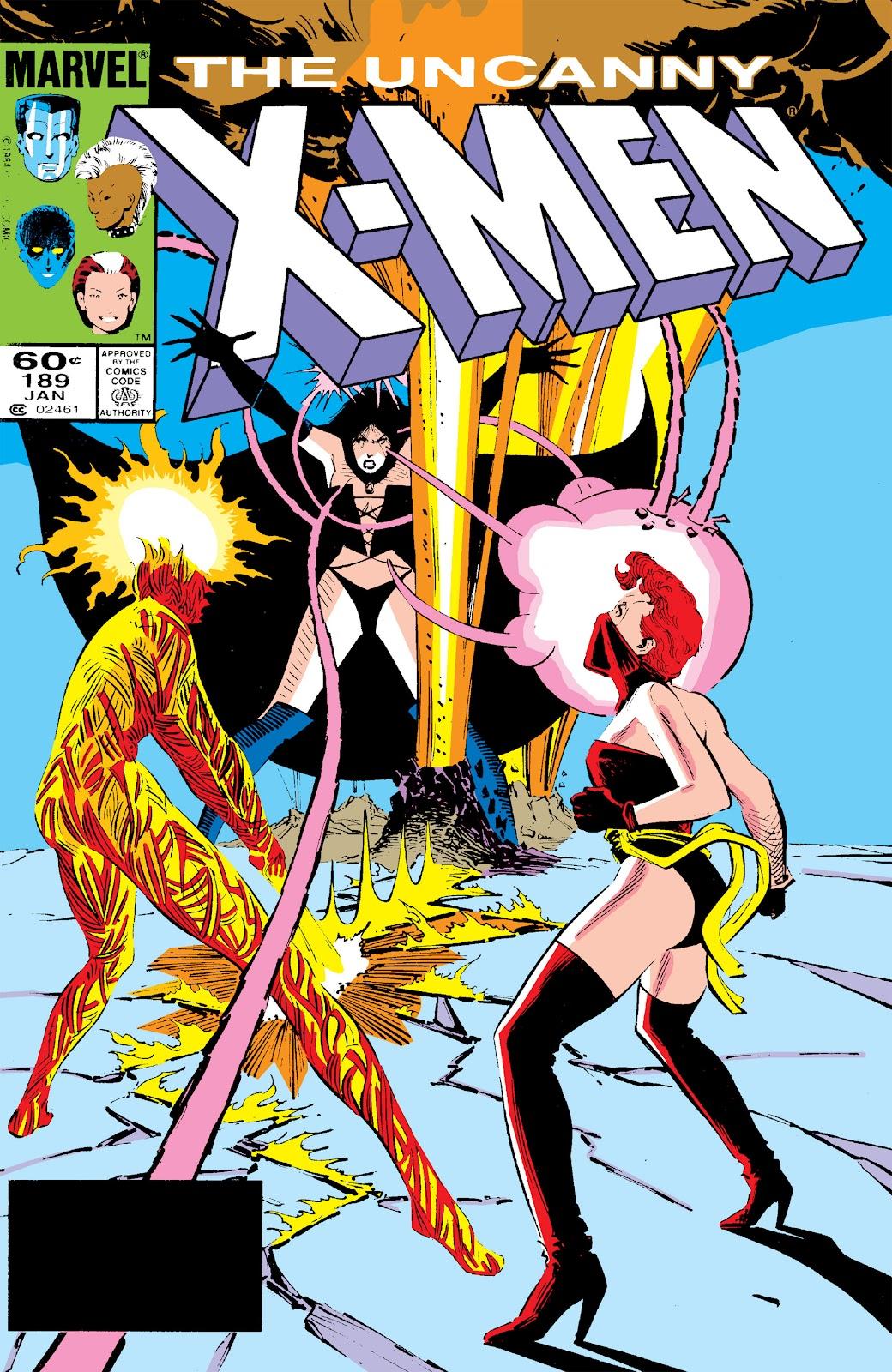 Uncanny X-Men (1963) issue 189 - Page 1