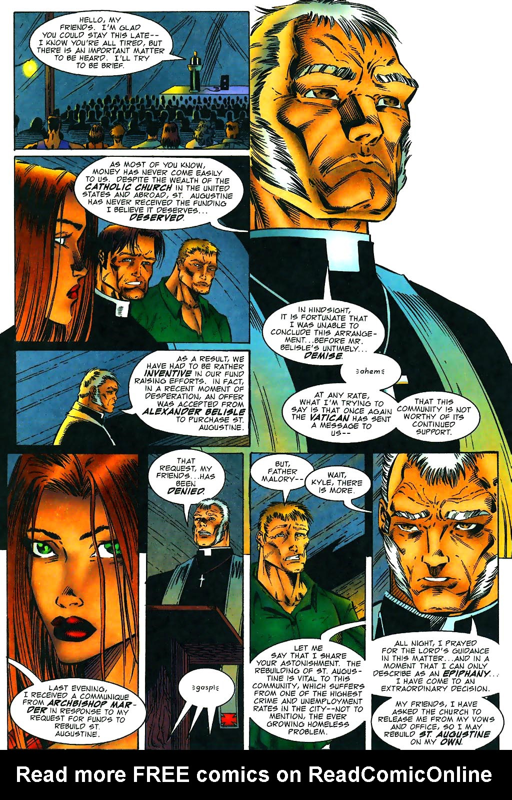 Read online Avengelyne (1996) comic -  Issue #1 - 14