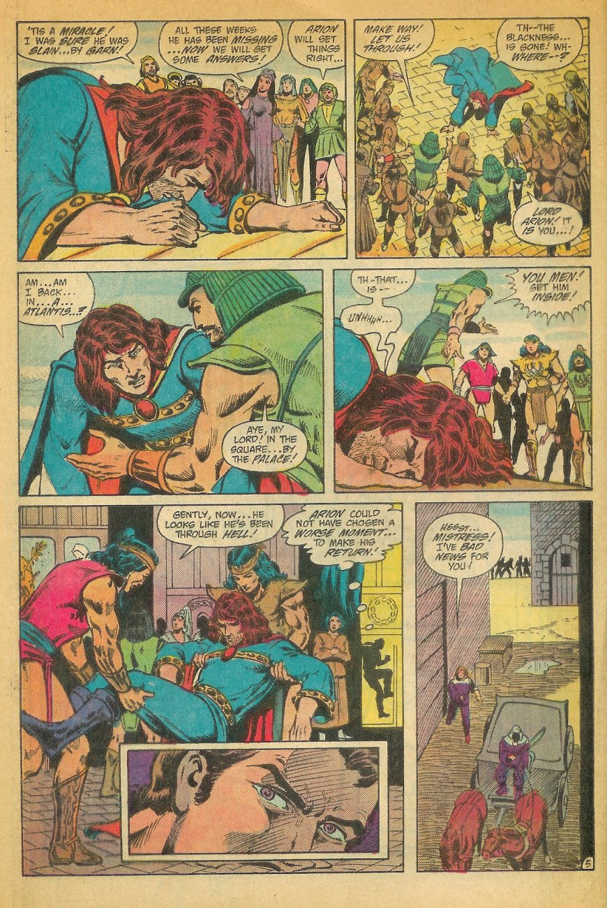 Read online Arion, Lord of Atlantis comic -  Issue #26 - 6