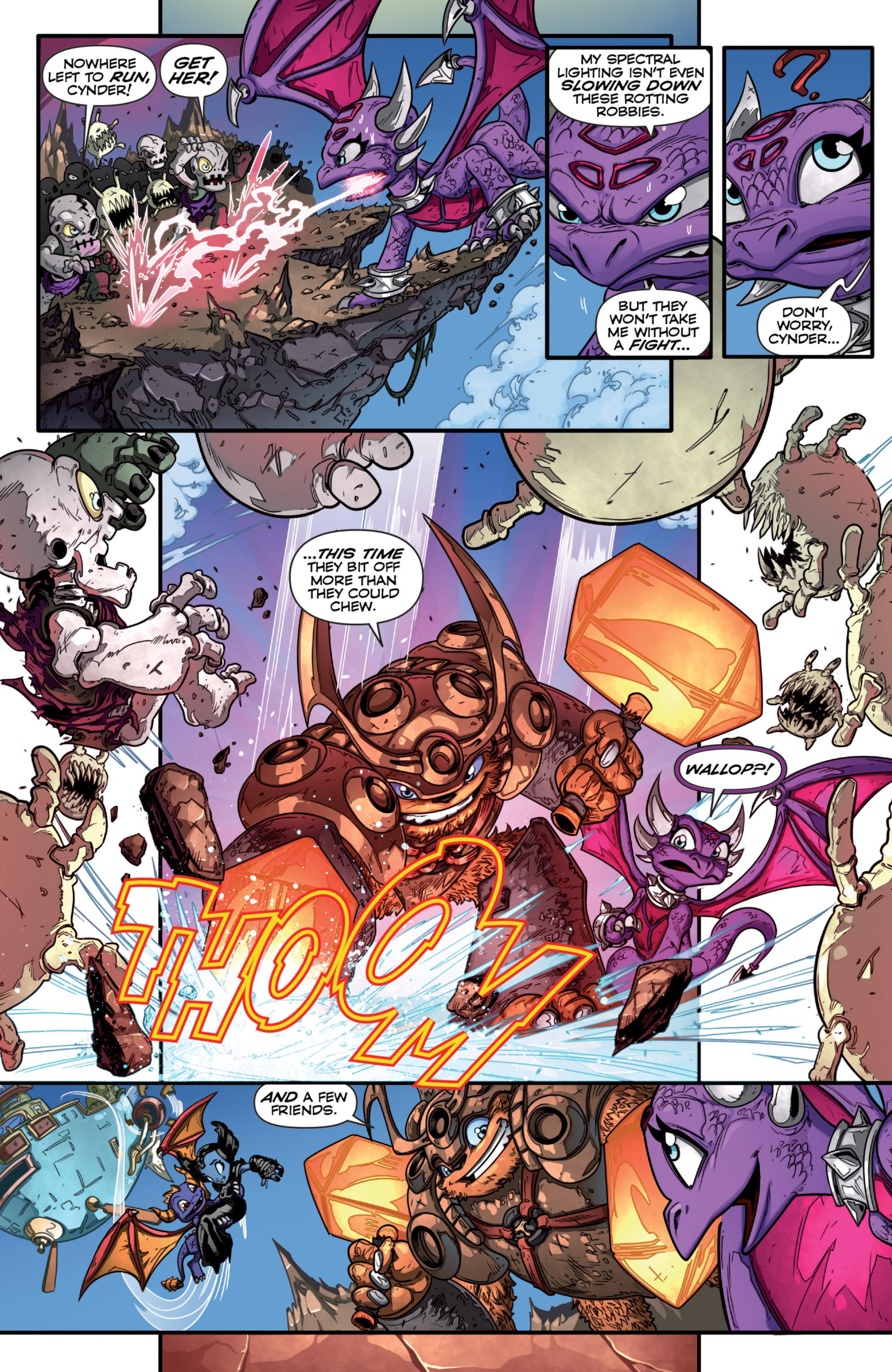 Read online Skylanders comic -  Issue #7 - 13