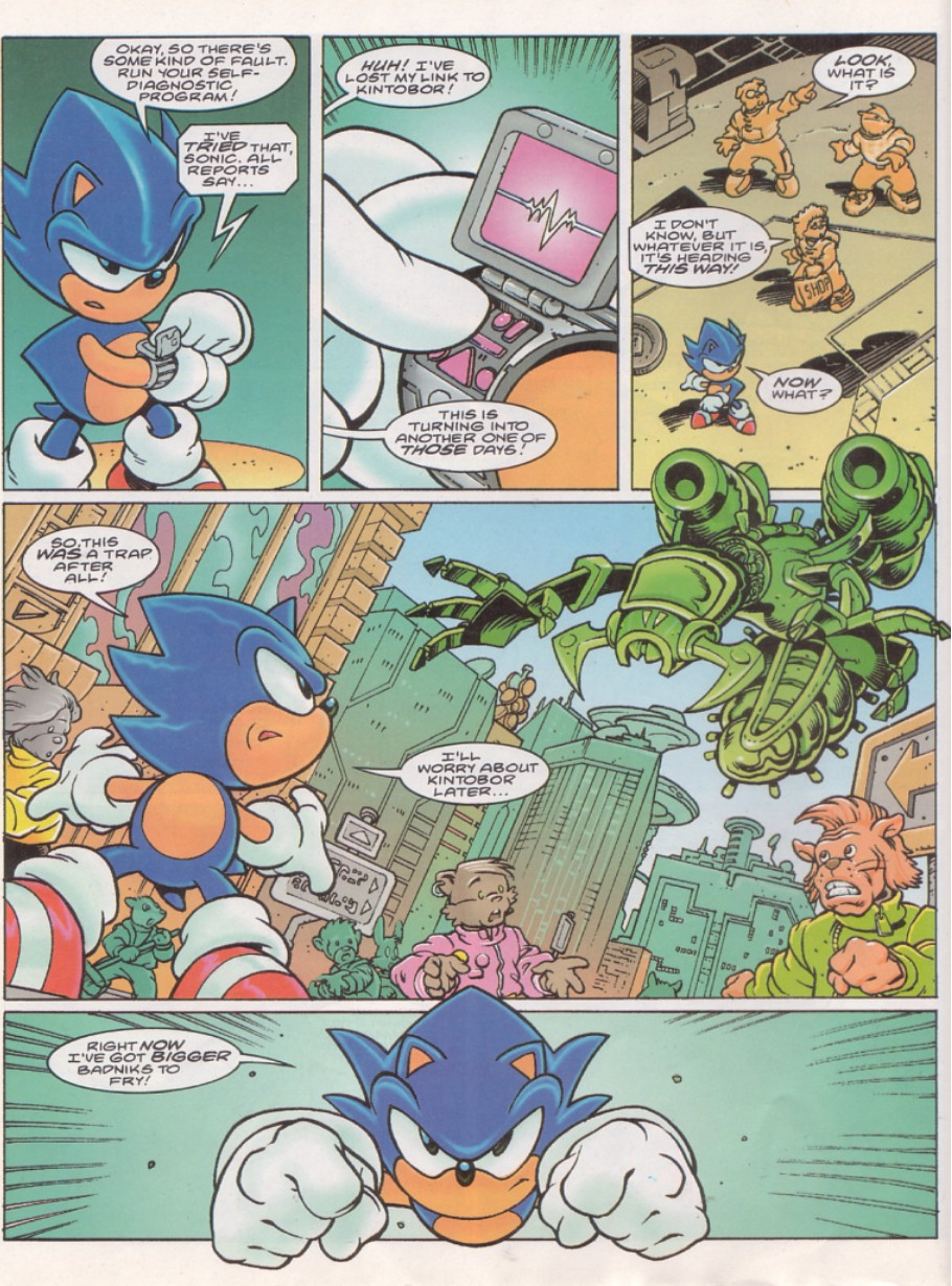 Read online Sonic the Comic comic -  Issue #143 - 6
