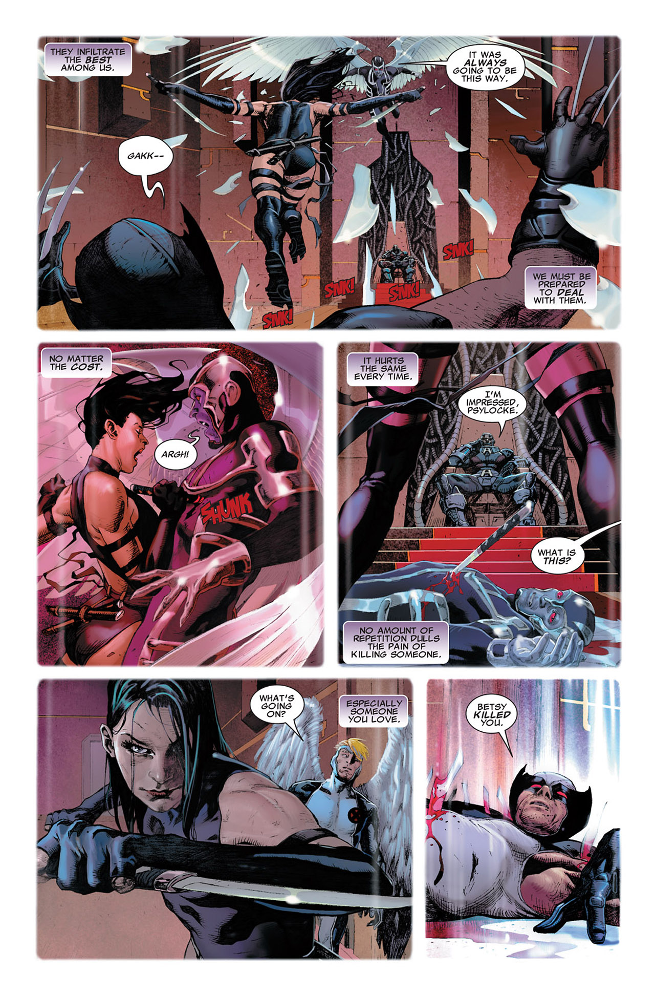 Read online Uncanny X-Force (2010) comic -  Issue #2 - 6