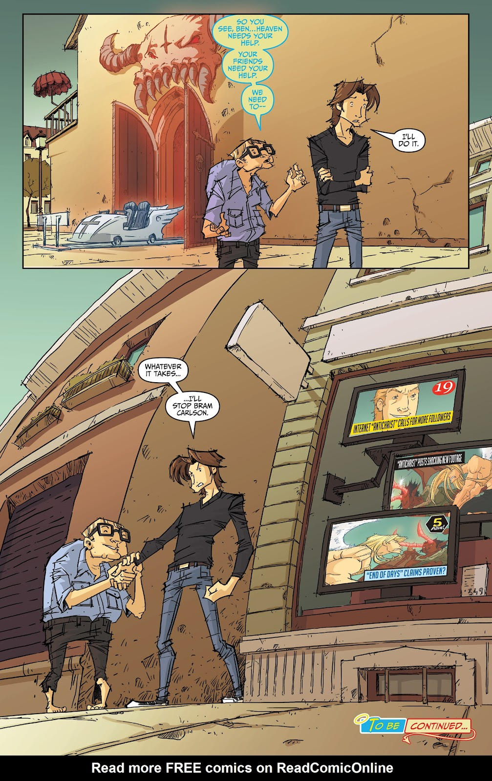 Read online The End Times of Bram and Ben comic -  Issue #2 - 23