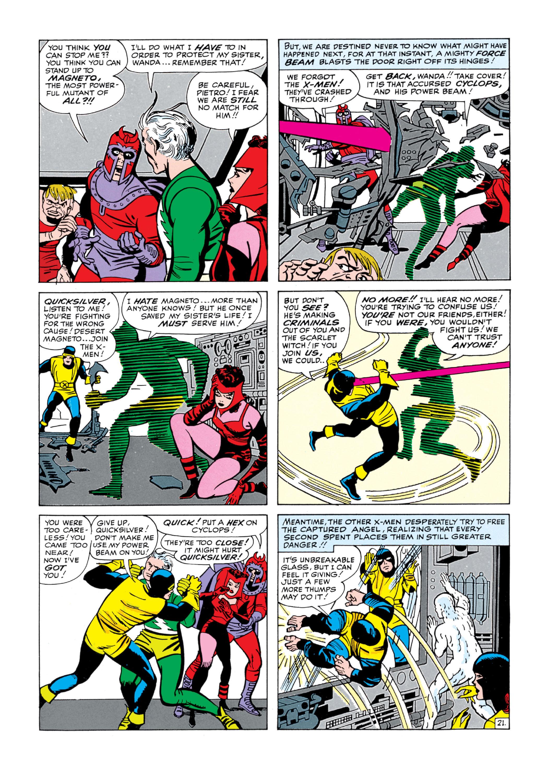 Read online Uncanny X-Men (1963) comic -  Issue #5 - 22