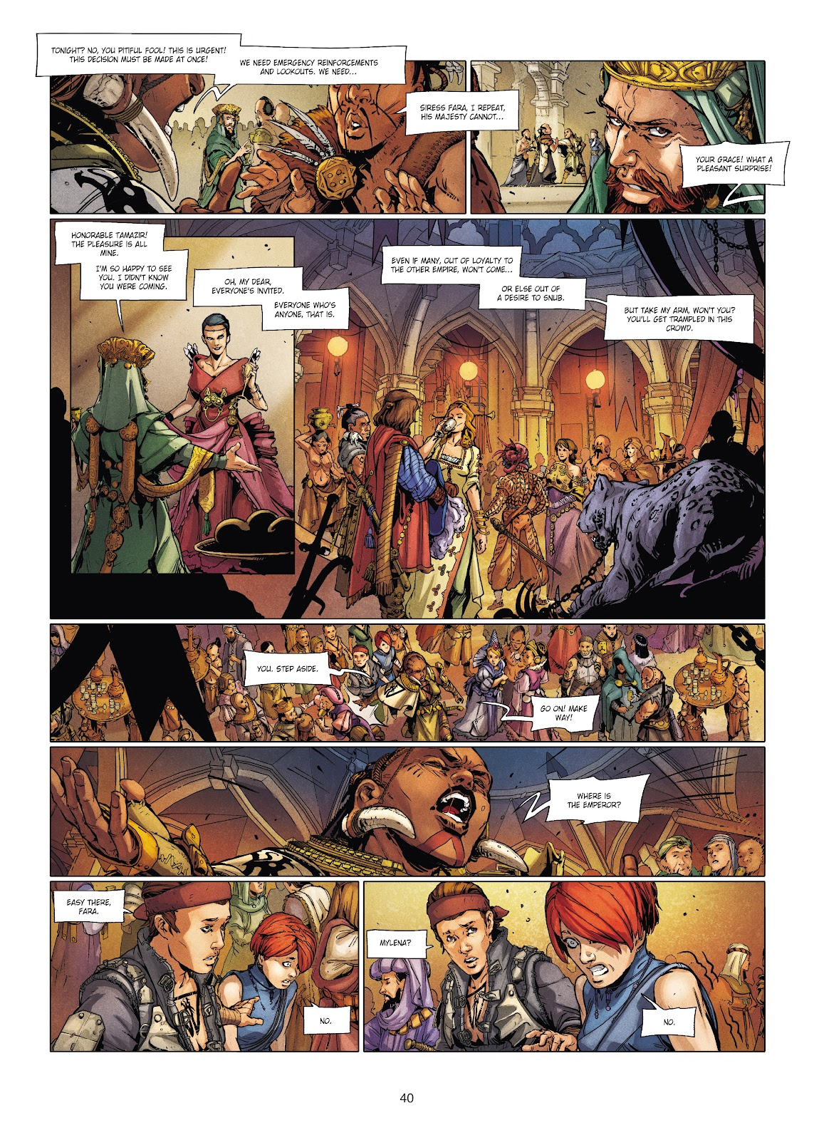 Read online Chronicles of the Dragon Knights comic -  Issue #20 - 40