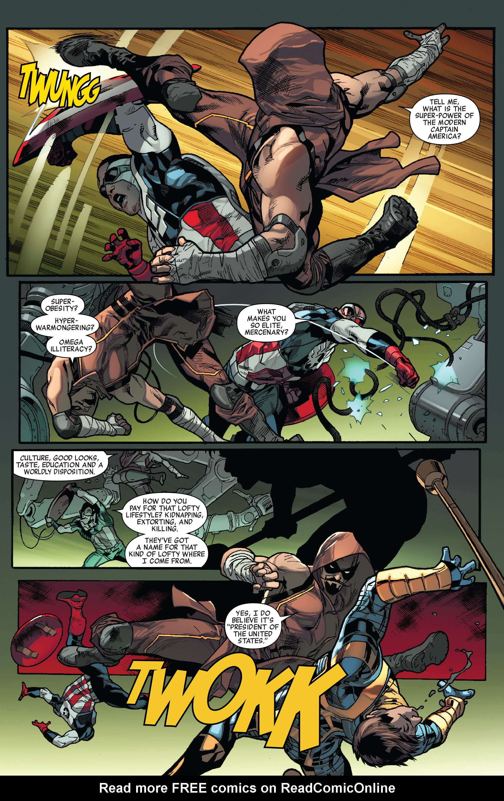 Read online All-New Captain America comic -  Issue #1 - 14