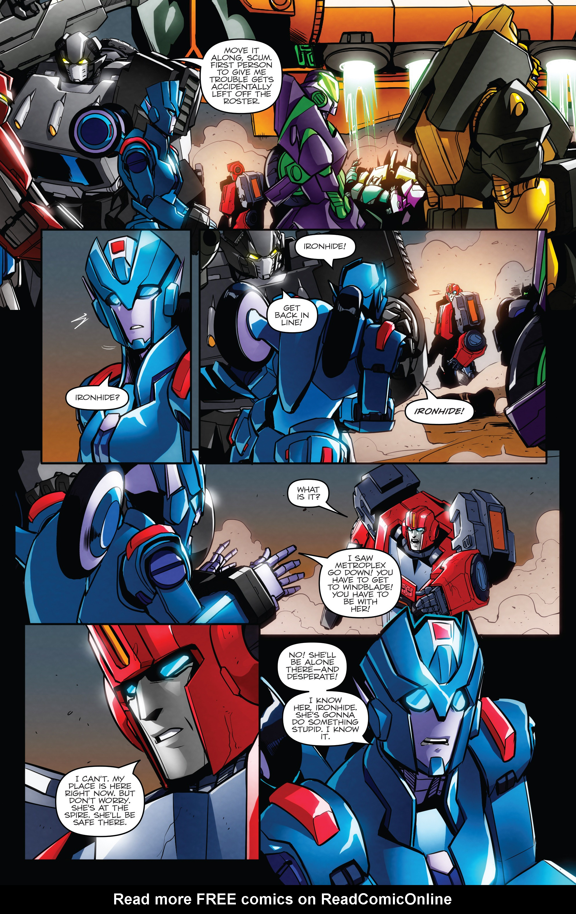 Read online Transformers: Till All Are One comic -  Issue #6 - 17