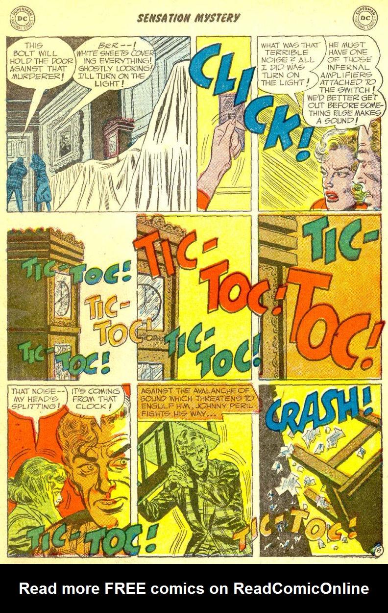 Read online Sensation (Mystery) Comics comic -  Issue #111 - 31
