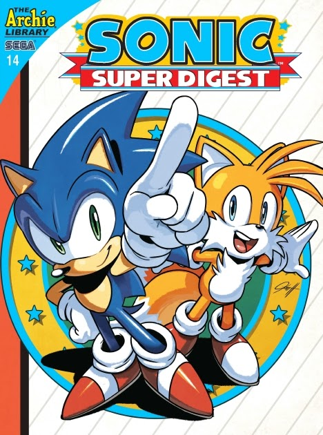 Sonic Super Digest 14 Page 1
