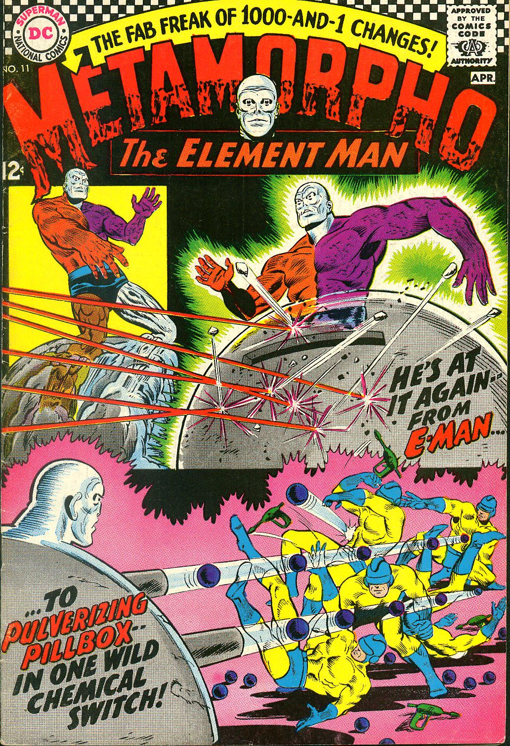 Metamorpho (1965) issue 11 - Page 1