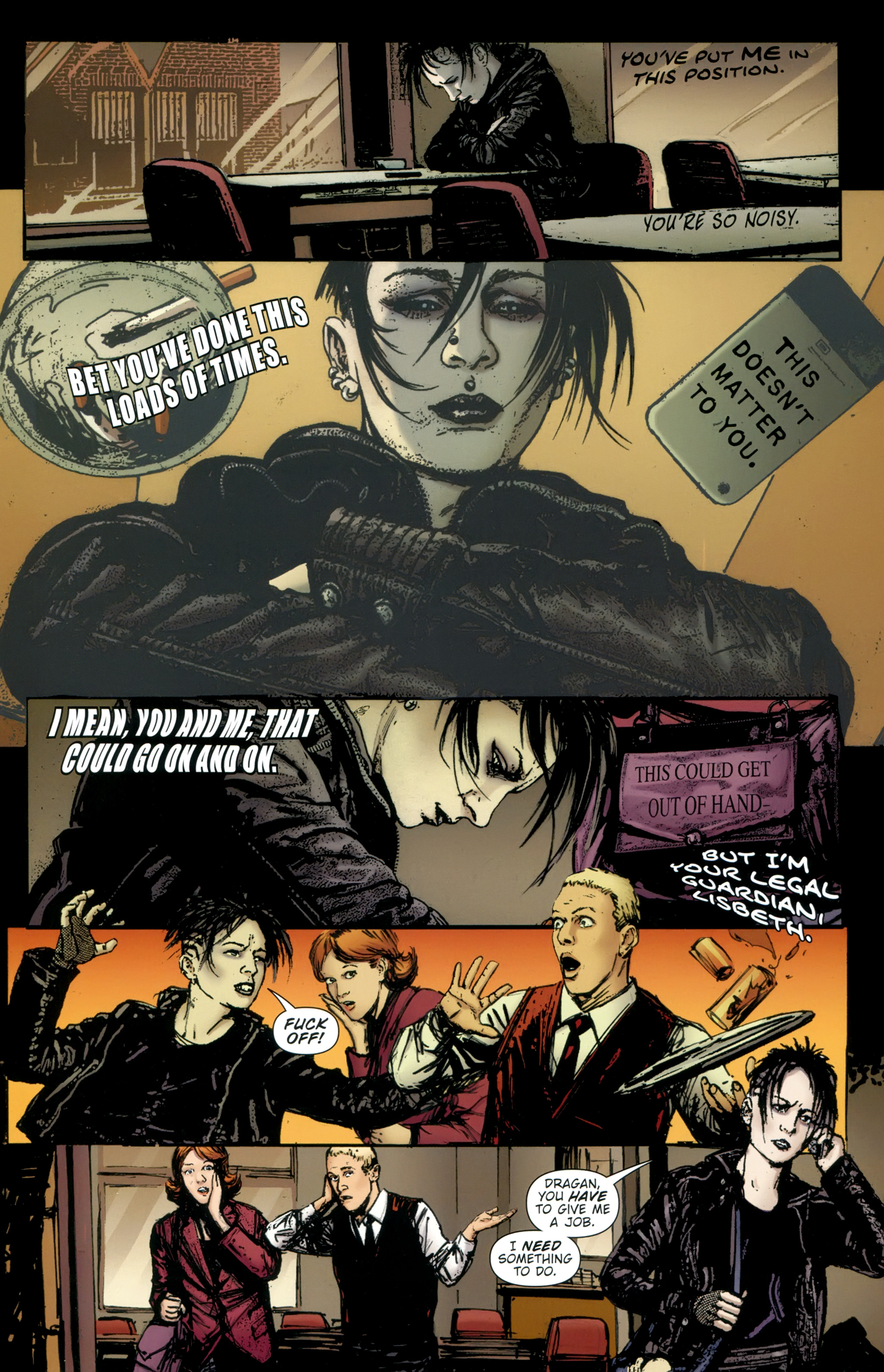 Read online The Girl With the Dragon Tattoo comic -  Issue # TPB 2 - 24